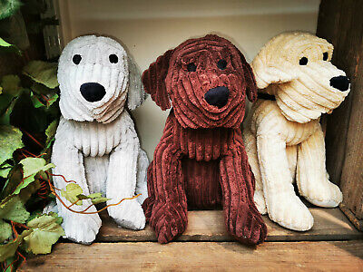 Jumbo Cord Doggy Doorstop / Door Stop /  Doorstopper / Door Stopper -  3 Colours • 10.99£