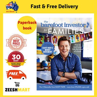 AU24.70 • Buy The Barefoot Investor For Families How To Teach Your Kid The Value Of A Buck