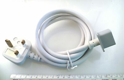 Apple C19 Heavy Duty Power Lead UK Plug To Square Flange OL0264A • 35£