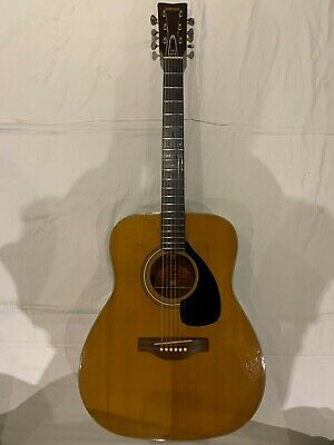VINTAGE YAMAHA FG-180 GOLDEN ERA ACOUSTIC GUITAR FULLY REFURB CIRCA EARLY 1970's • 699£