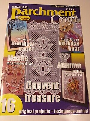 Parchment Craft Magazine June/July 2002 • 2.50£