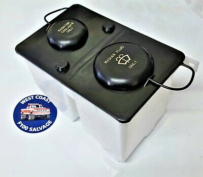 AU129.70 • Buy 81 - 95 Ford F100 Parts  Washer Bottle And Radiator Overflow New