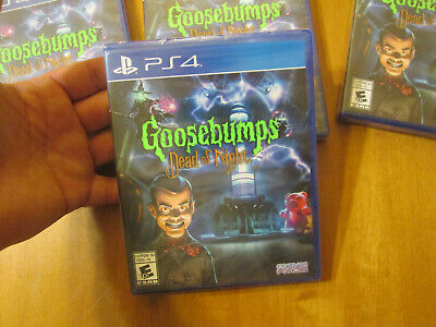 AU49.61 • Buy Goosebumps Dead Of Night Ps4 Playstation 4 Sony Scare Kids New Factory Sealed