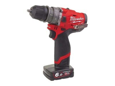 Milwaukee M12FPDXKIT-602X 12v Removable Chuck Percussion Drill (No Angle Head) • 269.99£