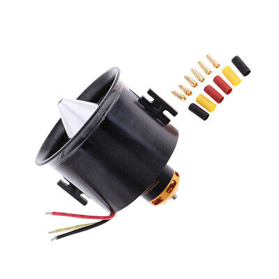 RC Aircraft Aeroplane QF2827 2600KV Brushless Motor 12-Blade 70mm Duct Fans • 31.32£