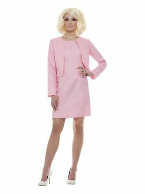 Womens Thunderbirds Lady Penelope Costume 1960s TV Ladies Fancy Dress Outfit • 34.99£