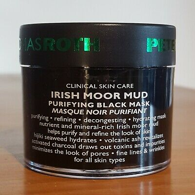 NEW Peter Thomas Roth Irish Moor Mud Purifying Black Mask 50ml Travel Size • 16.40£