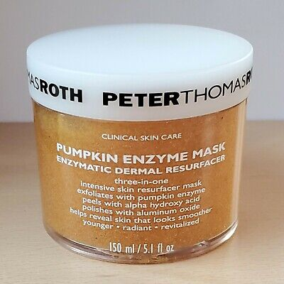 NEW Peter Thomas Roth Pumpkin Enzyme Mask 150ml Full Size • 40.95£