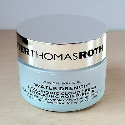 Peter Thomas Roth Water Drench Hyaluronic Cloud Cream Moisturiser 20ml Travel Sz • 15.95£