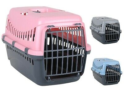 Portable Pet Carrier Carry Basket Cats Puppy Travel Cage Dog Transporter Box New • 11.95£
