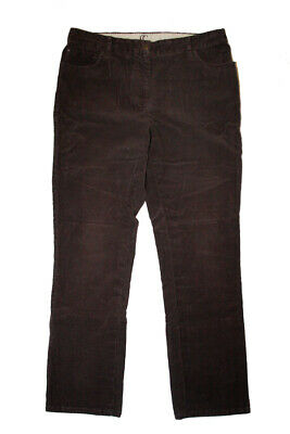 Country Casuals Ladies Cord Jeans - Size 14 - Brown • 5£