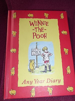 Winnie The Pooh: Any Year Diary By A.A. Milne Diary Book • 3.99£