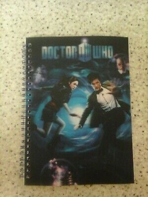 Doctor Who Adventures Holographic Notebook Collectable • 0.99£