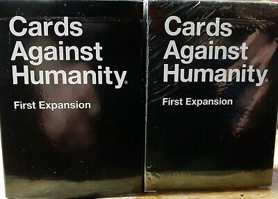 AU17.95 • Buy CARDS AGAINST HUMANITY 1st Expansion  Pack Brand New & Sealed.