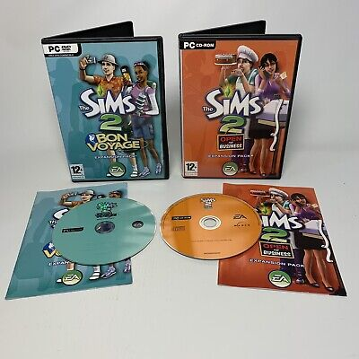 £5.99 • Buy The Sims 2 Bon Voyage & Open For Business Expansion Pack PC ROM