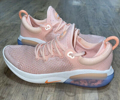 Nike Joyride Run Running Pink Peach Trainers Shoes 7.5 Gym Workout Yoga  • 45£