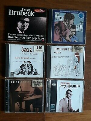 The Dave Brubeck Quartet Jazz Cd X 6 Job Lot Bundle • 12£