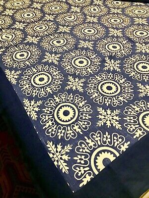 Ideal Scandinavian Style Christmas Large Tablecloth And 4 Napkins New • 6.30£