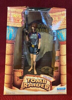 "Tomb Raider Lara Croft In Wet Suit 9"" Action Figure With Gun Boxed 1998 72001 • 22£"