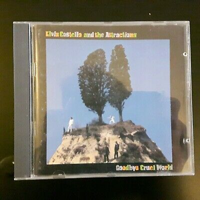 Elvis Costello And The Attractions - Goodbye Cruel World CD • 2£