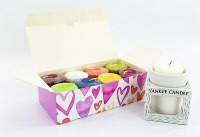 Yankee Candle 8 Votives In Gift Box With A FREE Votive Holder / Yankee Gift • 12.85£