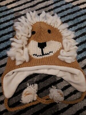 Ladies Novelty Lion Knitted Hat *unused* • 2£