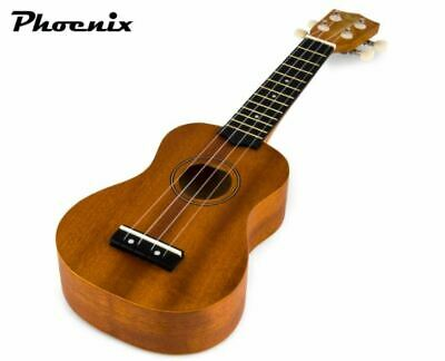 AU44.69 • Buy Ukulele Classic Fun Musical Instrument Learn Play Wooden Construction Mahogany