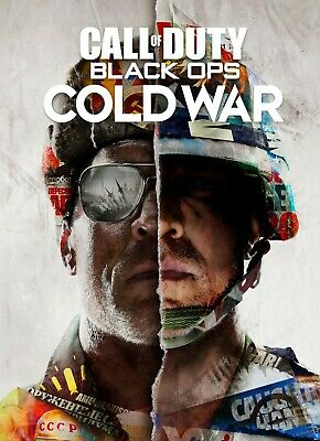 £8.95 • Buy Call Of Duty Black Ops Cold War Game Wall Art Poster Print - (a1 - A5 Sizes)