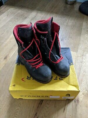 £190 • Buy Planner Tirol Fighter Chainsaw Boots