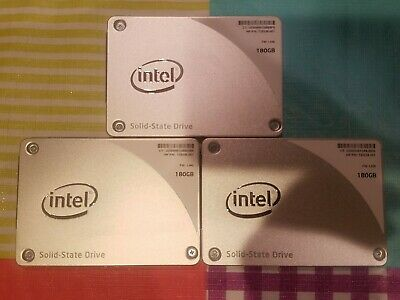 $ CDN85.08 • Buy Intel 180GB Internal 2.5  SSDSC2BF180A4H HP P/N 735236-001 SSD LOT OF 3