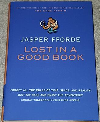 Jasper Fforde SIGNED Lost In A Good Book 1st Edn Hardcover + Postcard • 19.99£