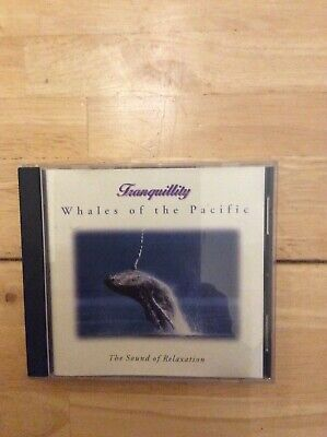 Tranquility - Cd - Whales Of The Pacific -the Sound Of Relaxation -  Used • 0.99£