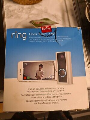 Ring Door View Peephole Camera  • 42£