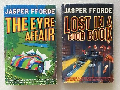 Thursday Next Books 1&2 Set - Eyre Affair & Lost In A Good Book By Jasper Fforde • 2.80£