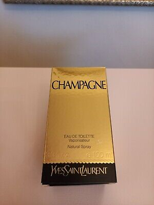 YSL Champagne 100ml Bottle Eau De Toilette Boxed. • 130£