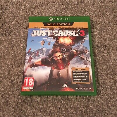 Just Cause 3 (Xbox One) PEGI 18+ Excellent Condition. • 1.40£