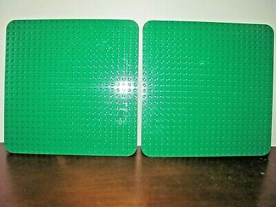 £10.77 • Buy LEGO DUPLO LARGE BASE PLATE BOARD GREEN 24 X 24~LOT OF 2~VERY CLEAN