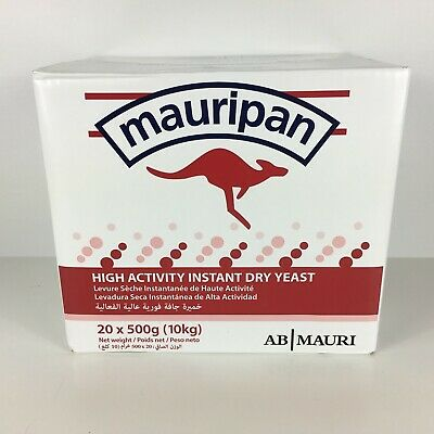 20 X 500g Mauripan Instant Dried Yeast Bakers Yeast Bread Rolls Dough Pizza • 89.99£