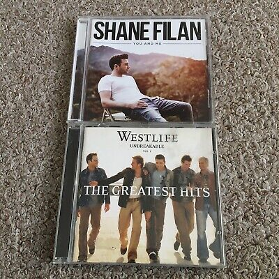 WESTLIFE & SHANE FILAN CD Albums Unbreakable Vol. 1 & You And Me • 3.95£