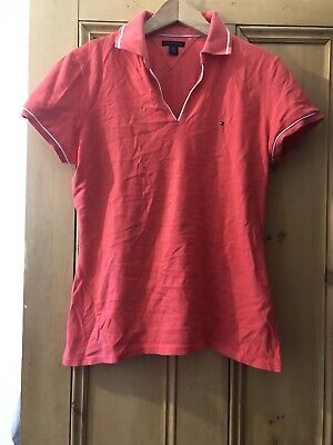Ladies/Girls Tommy Hilfiger Golf/Tennis  Top/Polo T Shirt - Size L/G • 2.50£