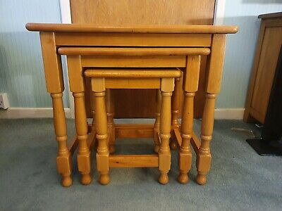 Pine Nest Of Tables  • 30£