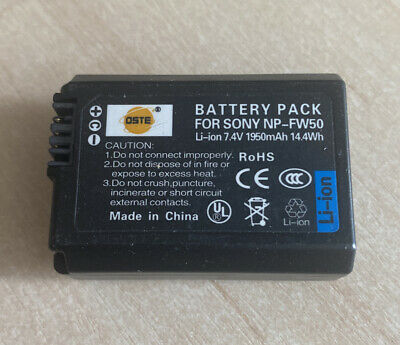 DSTE NP-FW50 LI-ION Batteries For Sony Cameras • 5£
