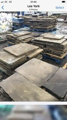 Reclaimed Cathedral Grade York Stone Flags • 5,500£