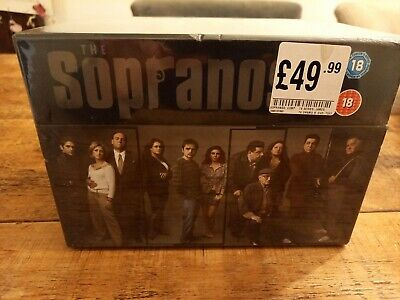 The Sopranos: The Complete Series 1/2/3/4/5/6 And Finals: 28 DVD Box Set - New  • 24£