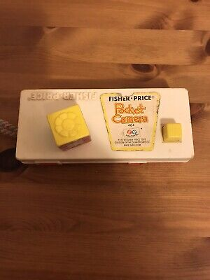 Vintage 1974 FISHER PRICE POCKET CAMERA - A Trip To The Zoo • 8£
