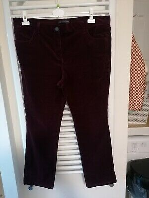 Ladies M&S Bootcut Cords Size 18 • 3.20£