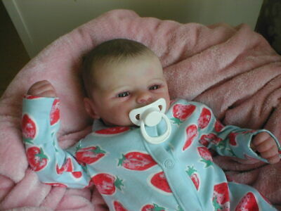 Reborn Baby Doll Marissa May's Moby Now Jaime By Eternal Infants  • 120£