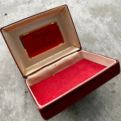 $ CDN139.95 • Buy Vintage Tudor By Rolex Watch Box Red
