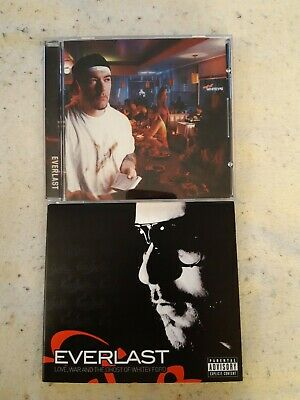 $ CDN15 • Buy Everlast 2 CD Lot: Eat At Whitey's + Love War Ghost Of Whitey Ford Coka Nostra