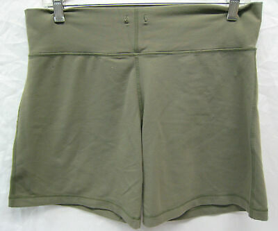 $ CDN32.18 • Buy Lululemon Olive Green Flowy Shorts Ladies Size 8 Tall Very Good